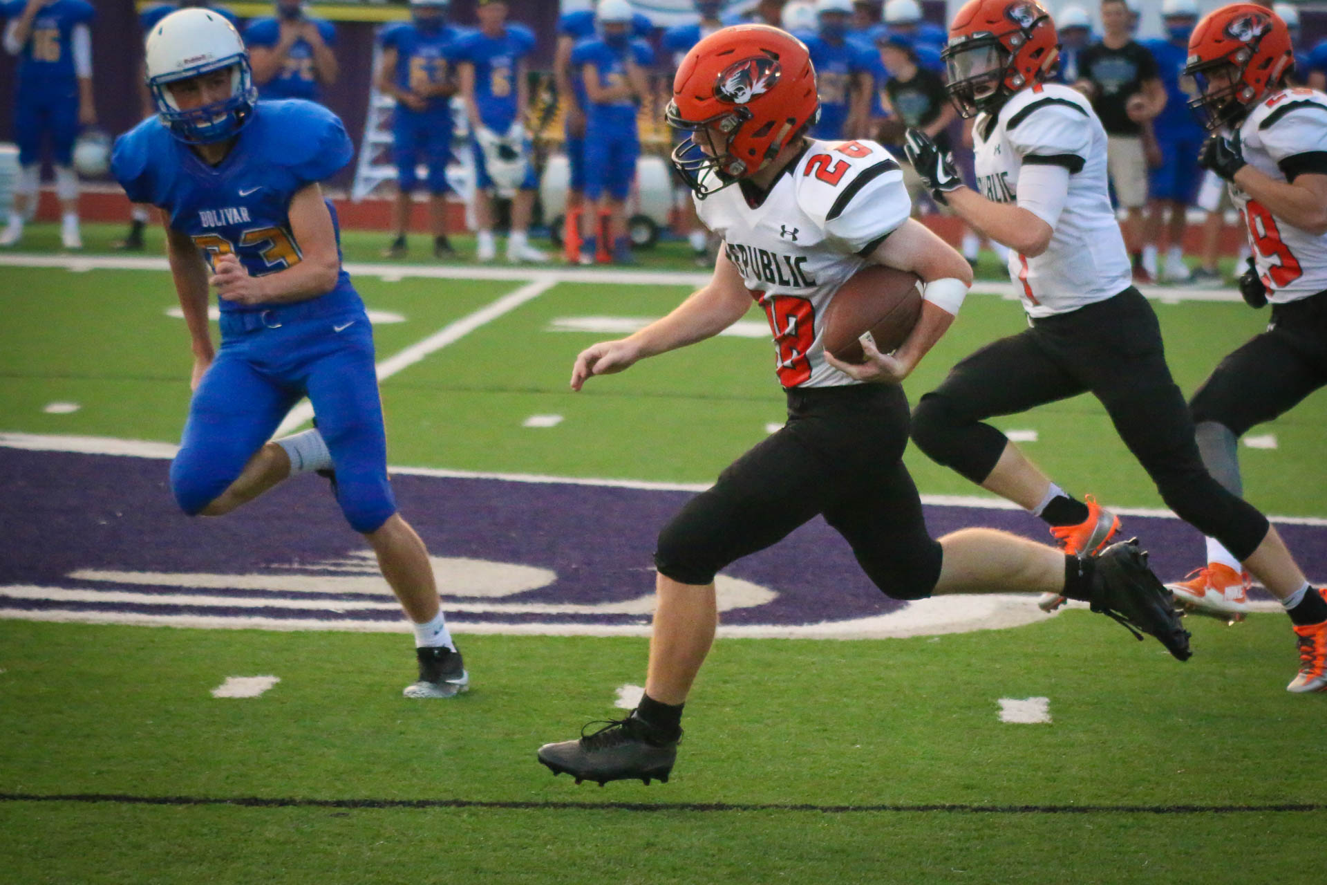 Photos: Varsity Football Vs Bolivar