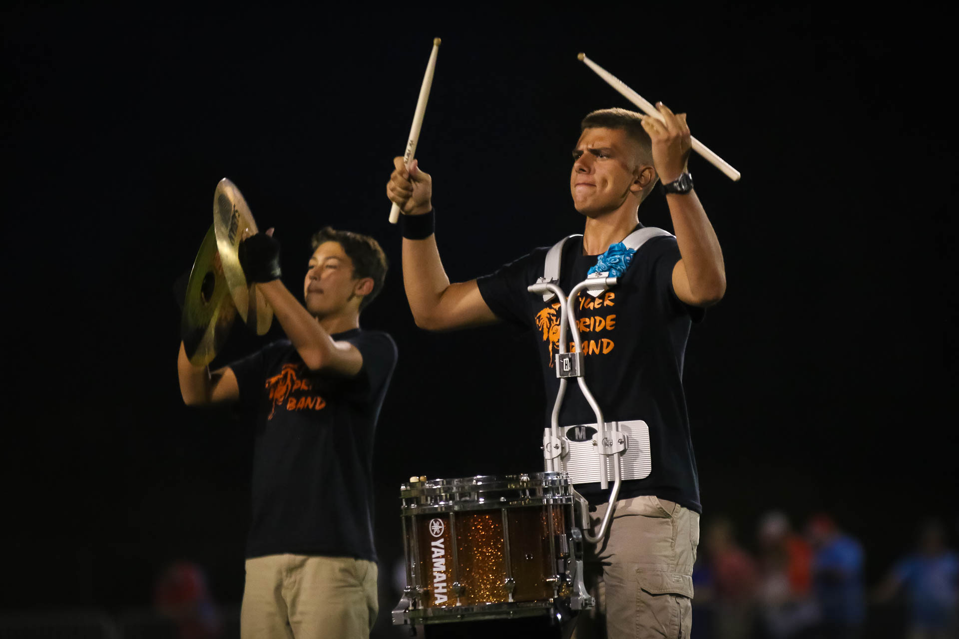 Photos:  Tiger Pride Band – Halftime Vs Webb City