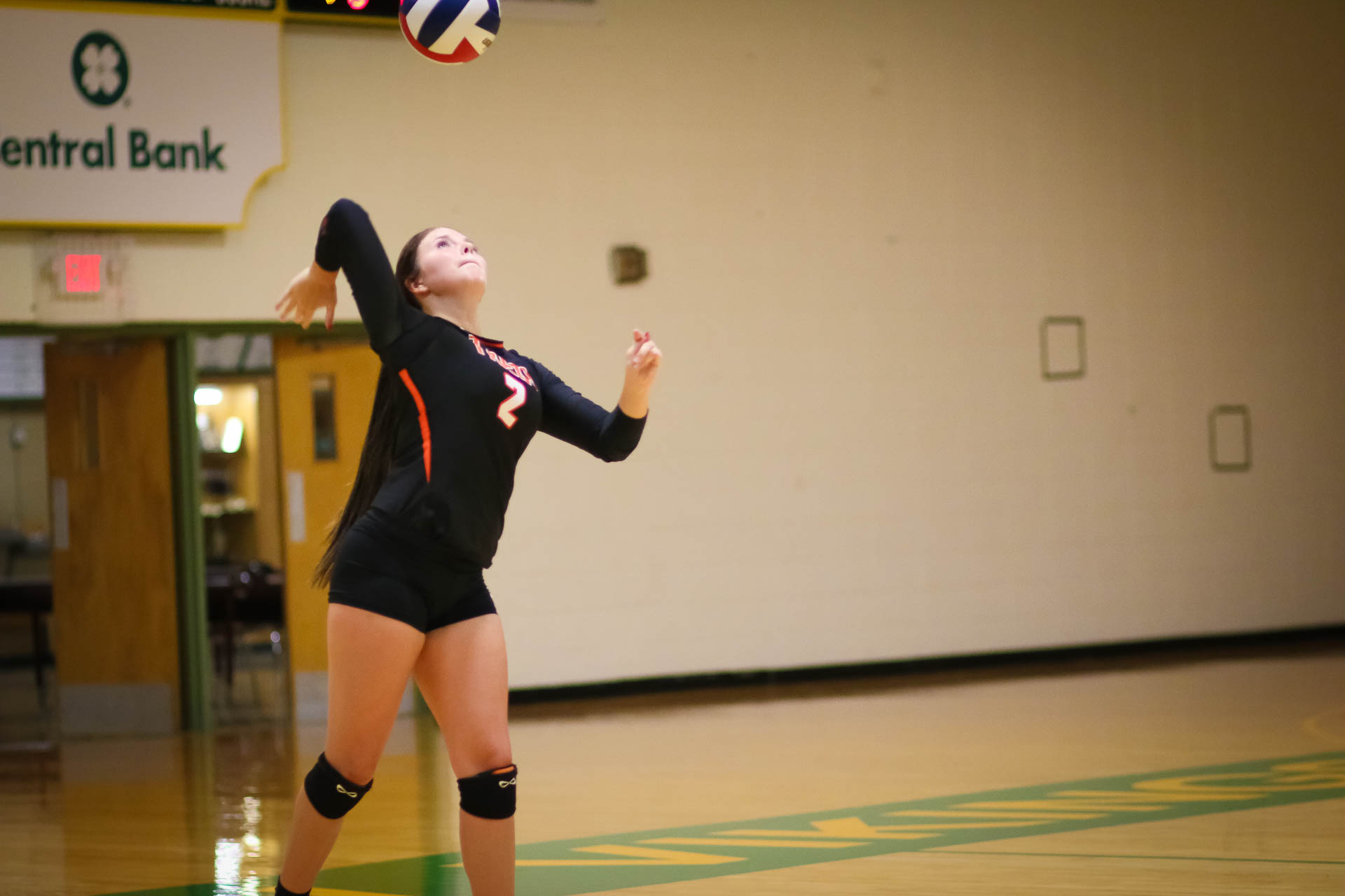 Lady Tigers Warm Up To Spike Vikes