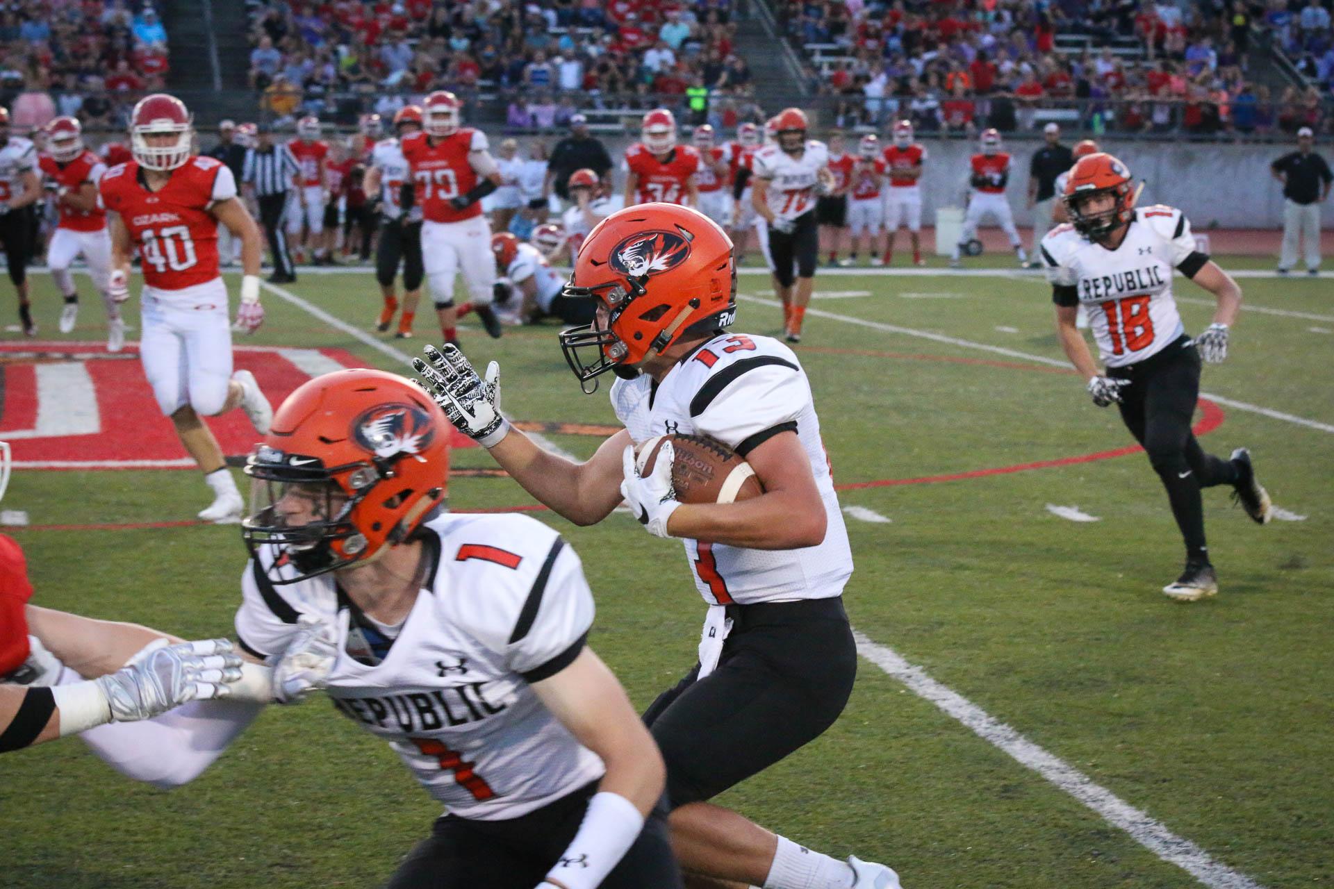 Photos:  Varsity Football vs Ozark