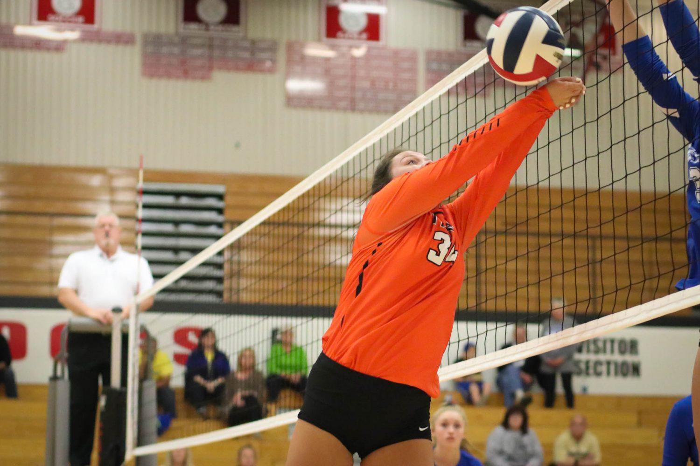 Photos:  Varsity Volleyball Vs Carthage (Districts)