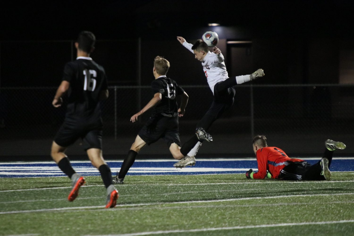 Photos: District Soccer Semifinal Vs Willard
