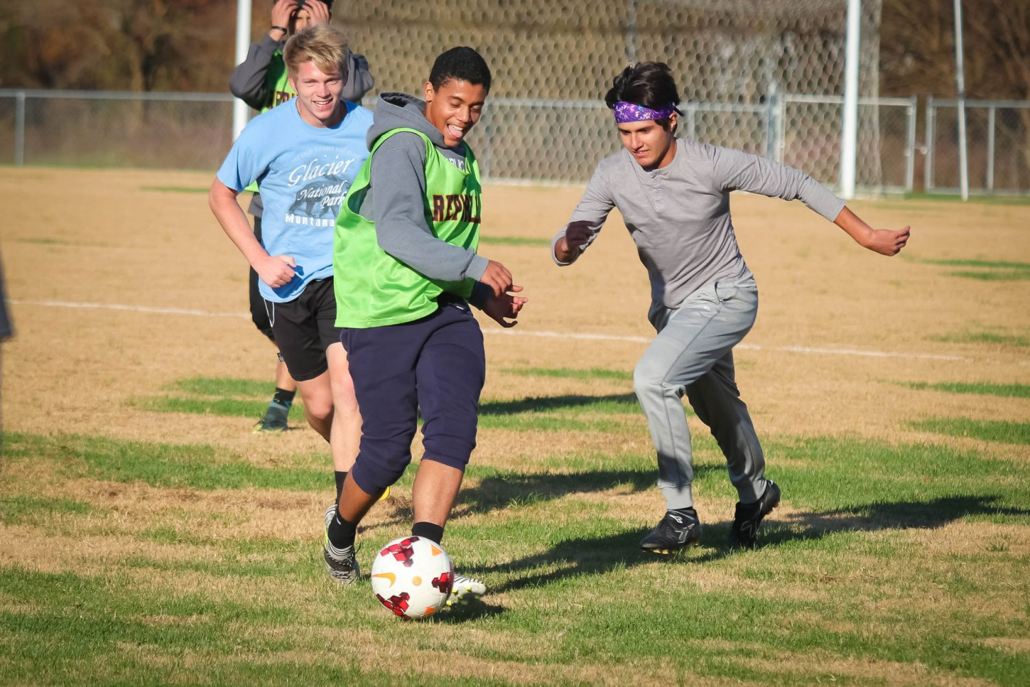 Photos:  Soccer Practice – Final Four Tune-up