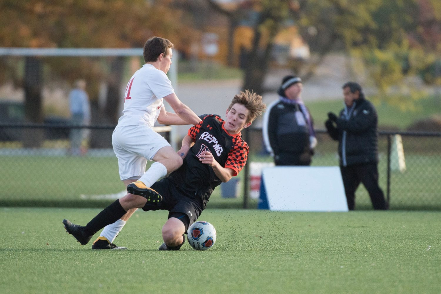 Photos: Soccer Semifinals Vs Parkway Central
