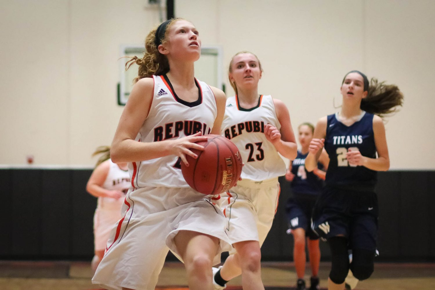 Photos:  JV Girls Basketball vs Lee's Summit West