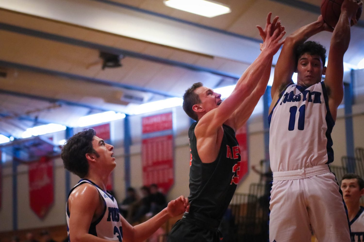 Photos:  Varsity Boys Basketball Vs Forsyth