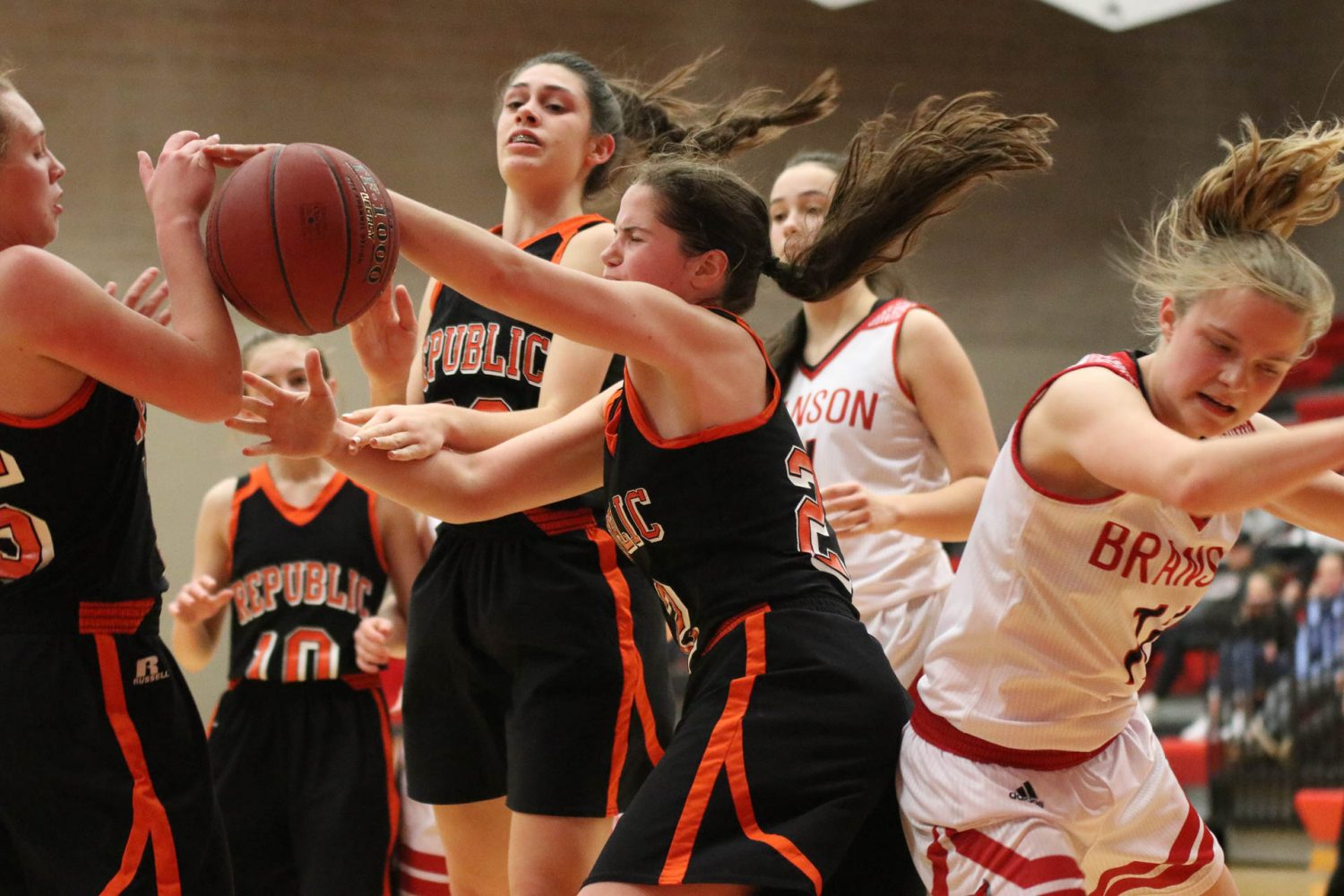 Photos:  Freshman Girls Basketball Vs Branson