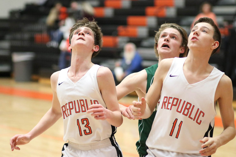 Photos:  Freshman Boys Basketball Vs Catholic