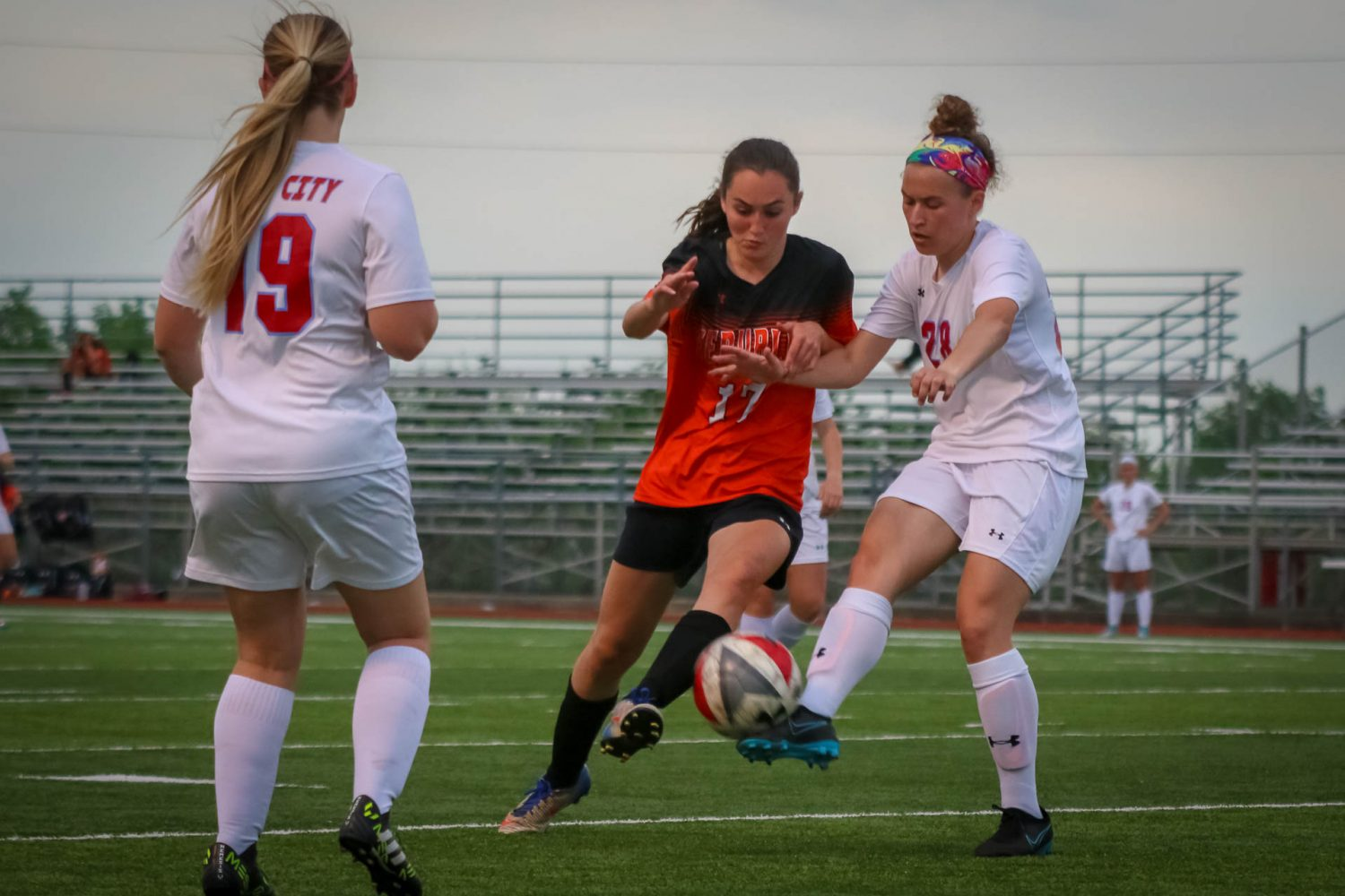 Aggressive Lady Tigers Beat Webb City
