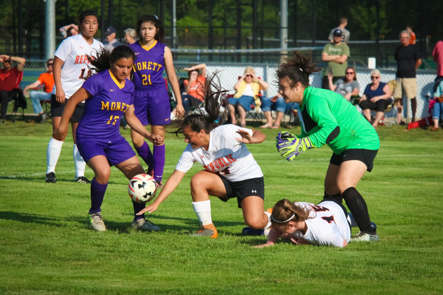 Photos:  JV Soccer Vs Monett