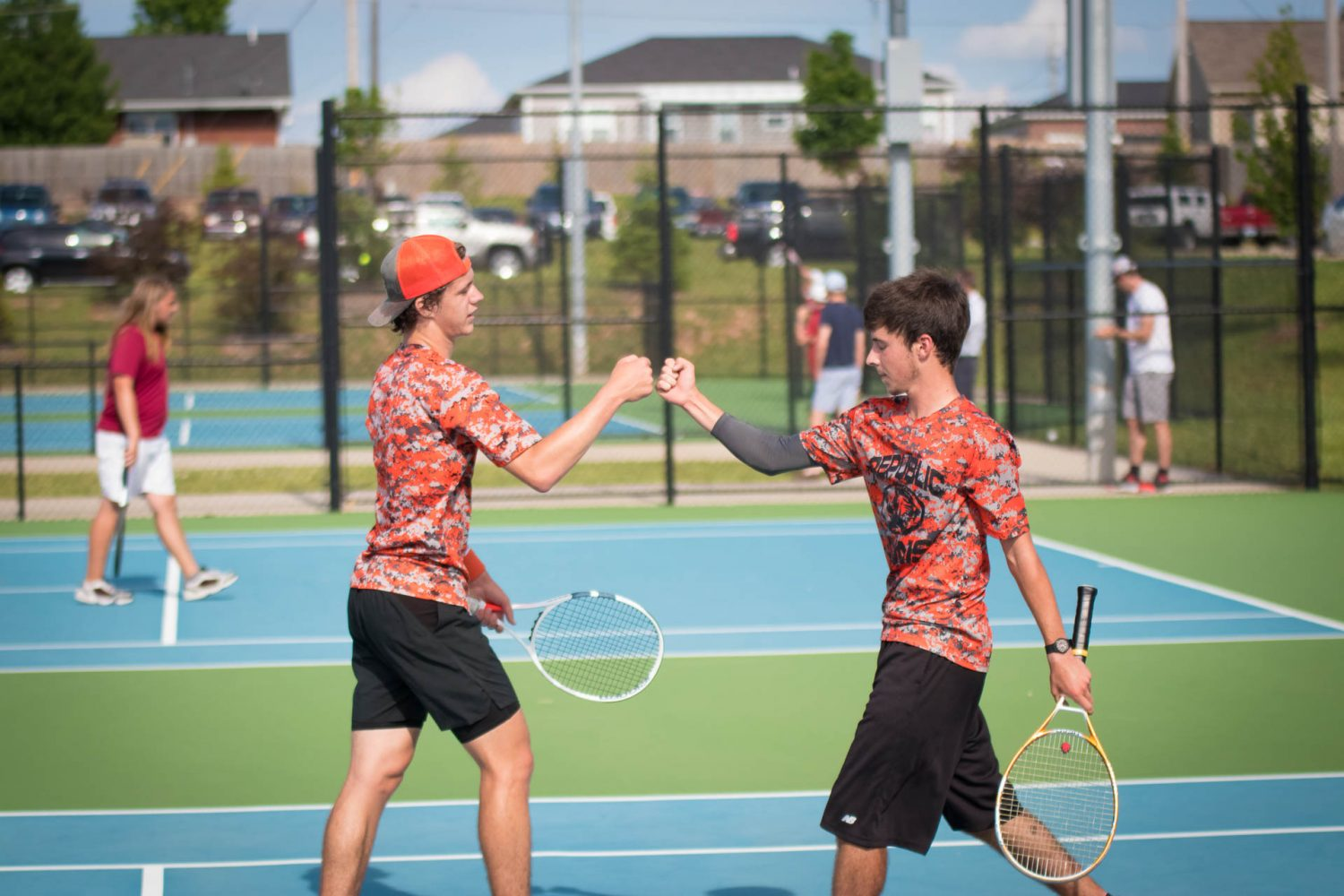 Photos And Results:  Tennis Sectionals
