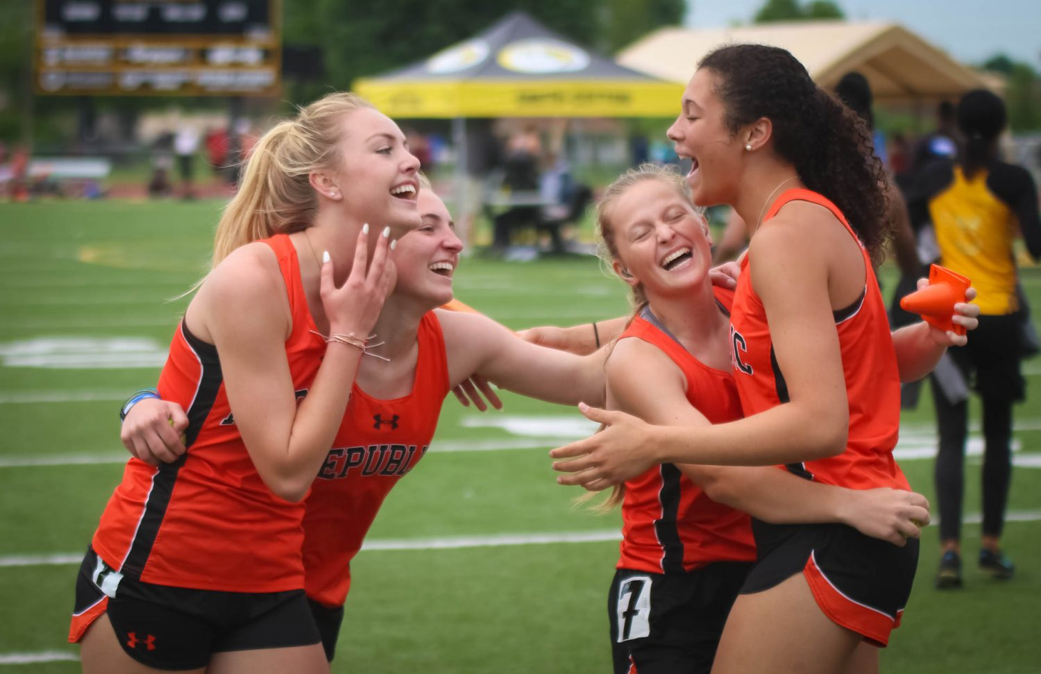 Photos And Results:  Track Sectionals