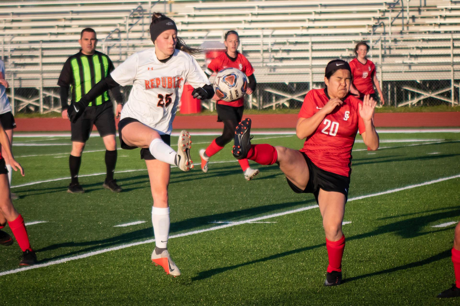 Photos:  Varsity Soccer Vs Carl Junction