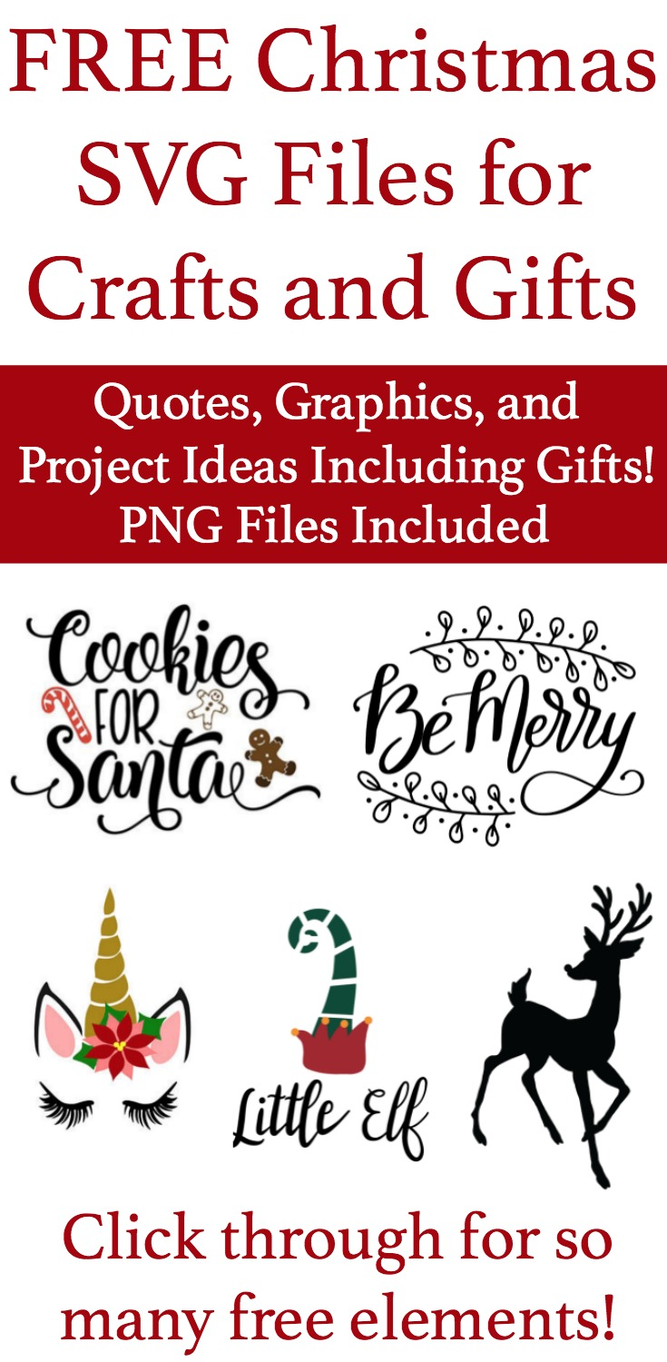 Download Get These Free SVG Files for Christmas Crafts and Gifts
