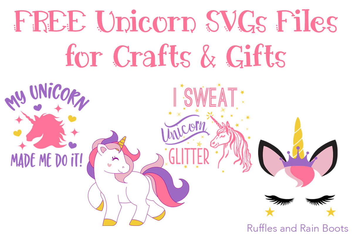The Best Free Unicorn Svg And Graphics