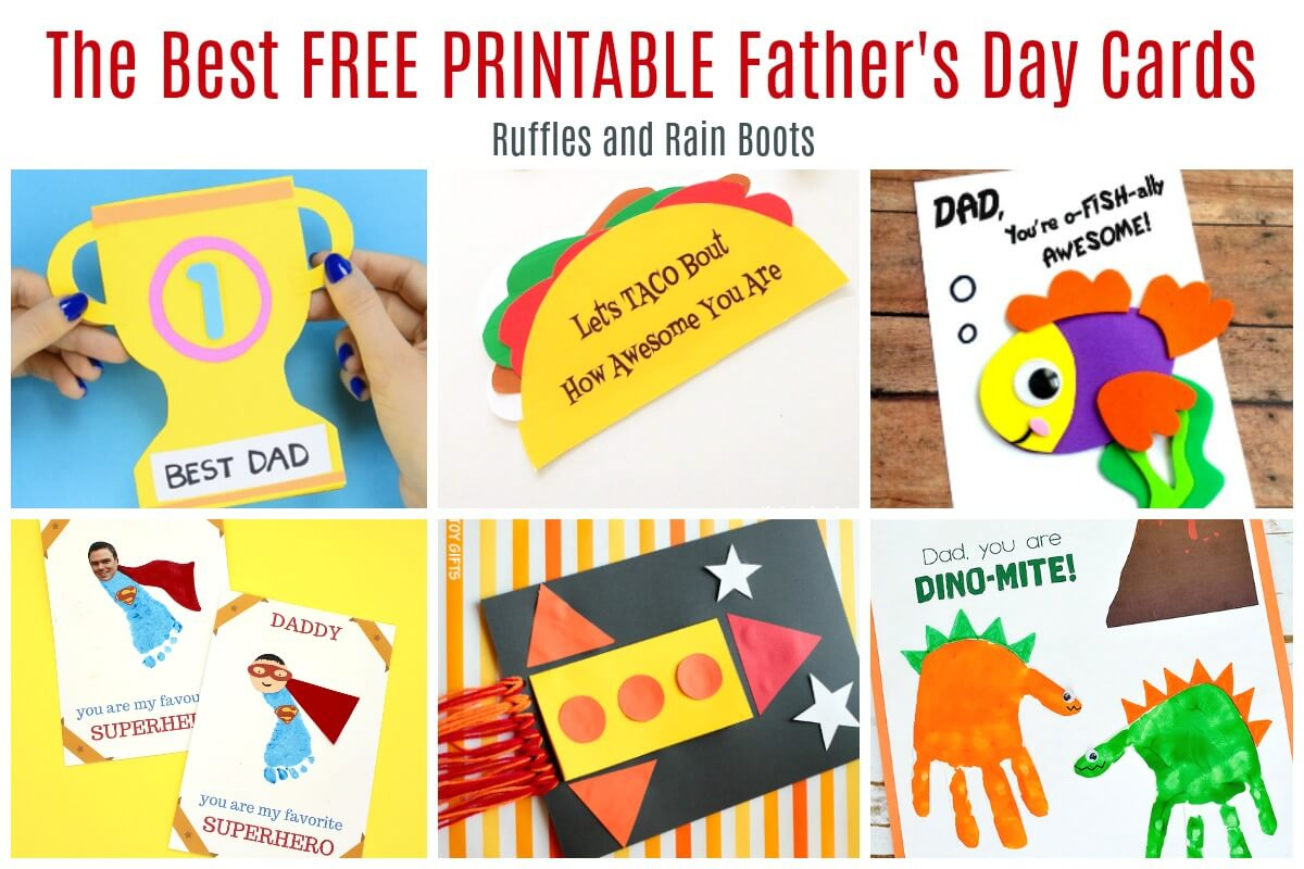 12 Free Printable Father S Day Cards