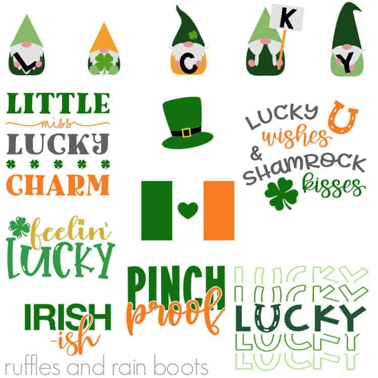 Download St Patrick's Day SVG Files for Cricut and Silhouette