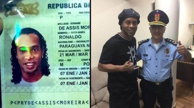 Por qué Ronaldinho ingresó a Paraguay con documentos falsos?