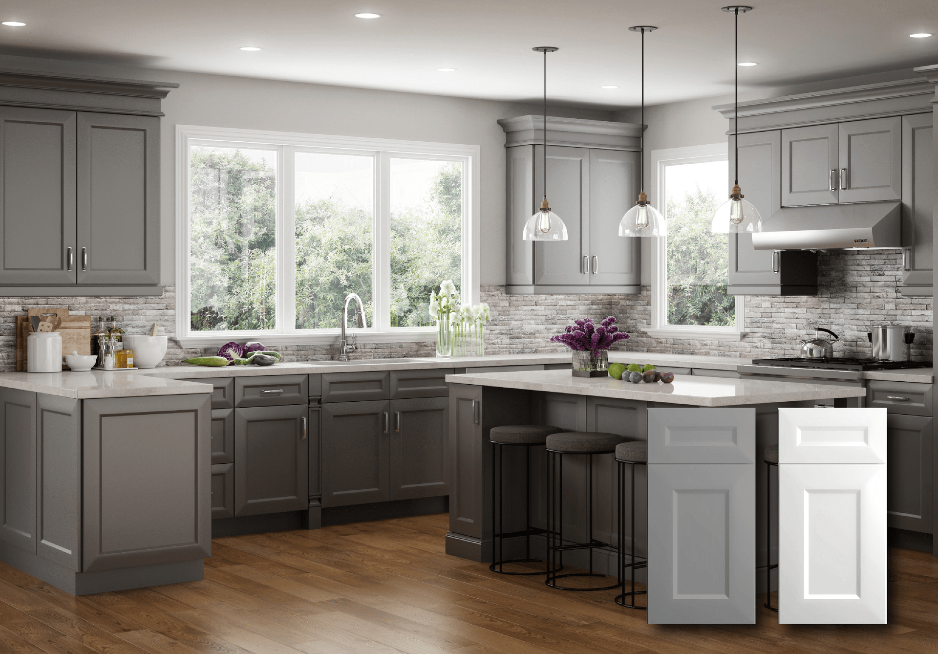 Contemporary Kitchen Cabinets | For Residential Pros on Images Of Modern Kitchens  id=97955