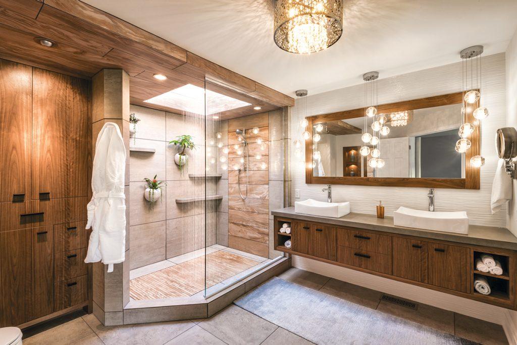 Mother Nature Inspires Master Bath   Kitchen & Bath Design ... on Bathroom Ideas Photo Gallery  id=34568