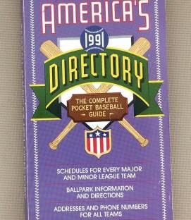 Baseball America's Baseball Directory 1991