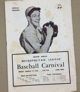 1950 San Diego Baseball Carnival