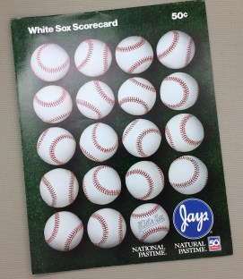Chicago White Sox 1988 Program