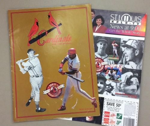 St Louis Cardinals 1992 Program