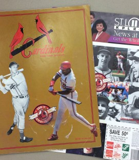 St Louis Cardinals 1992 Program