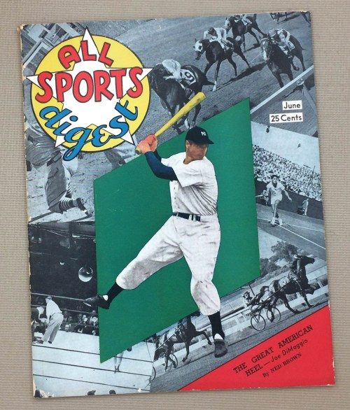 All Sports Digest June 1949 Issue