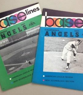 Angels 1967 Base-lines Programs