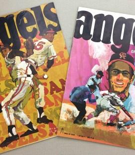California Angels 1968 Program 2 Pack