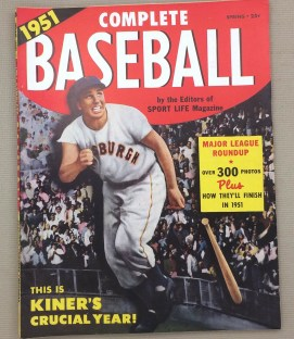 Complete Baseball Spring 1951 Issue