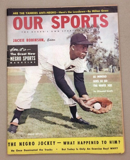 Jackie Robinsons OUR SPORTS Magazine July 1953