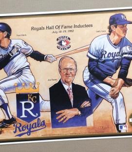 Kansas City Royals 1992 HOF Inductees