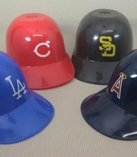 Dodgers, Angels, Reds, Padres Mini Helmets