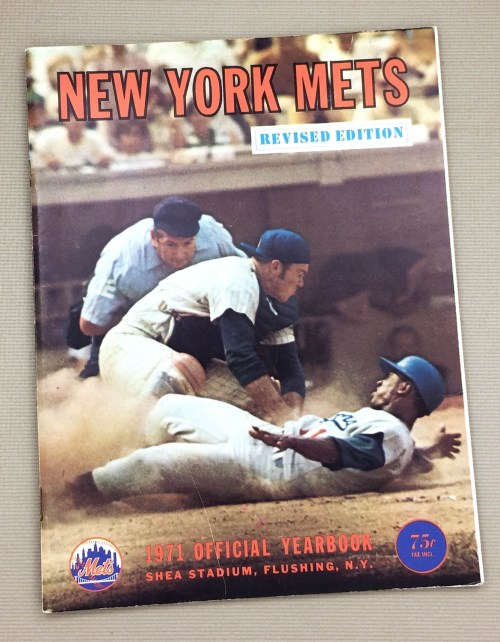 New York Mets 1971 Official Yearbook