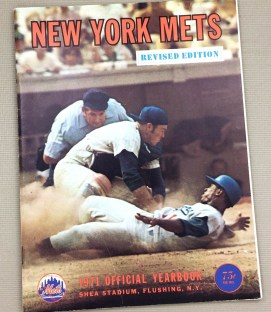 New York Mets 1971 Official Yearbook