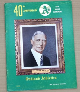 Oakland Athletics 1969 Yearbook