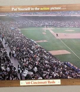 Cincinnati Reds 1968 Ticket Brochure