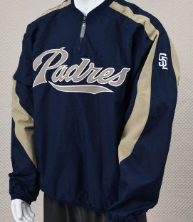 San Diego Padres Blue Pull-over Jacket
