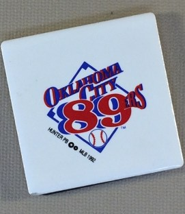Oklahoma City 89ers Team Magnet