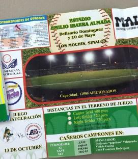 Los Mochis Caneros 2004 Schedule