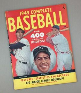 SPRING 1949 COMPLETE BASEBALL Magazine