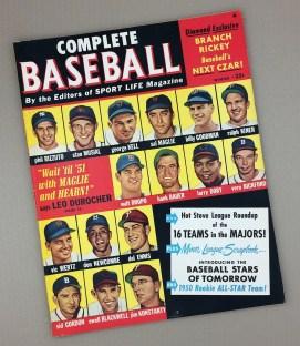WINTER 1950 COMPLETE BASEBALL Magazine