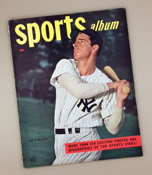 Dell Sports Album Magazine 1948