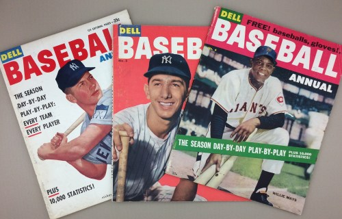 1953 '54 '55 Dell Baseball Annual 3 Pack