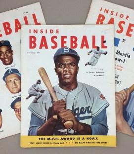 INSIDE BASEBALL Magazine 1953 3 Pack