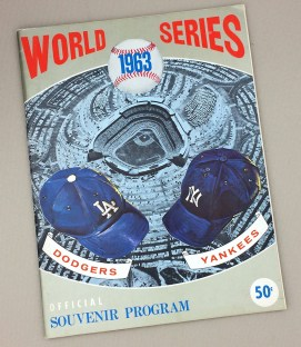 World Series 1963 Program
