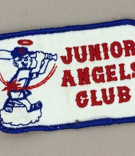 1960's Rectangular Junior Angels Patch